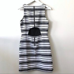 BANANA REPUBLIC - Striped Peep Hole Sheath Dress